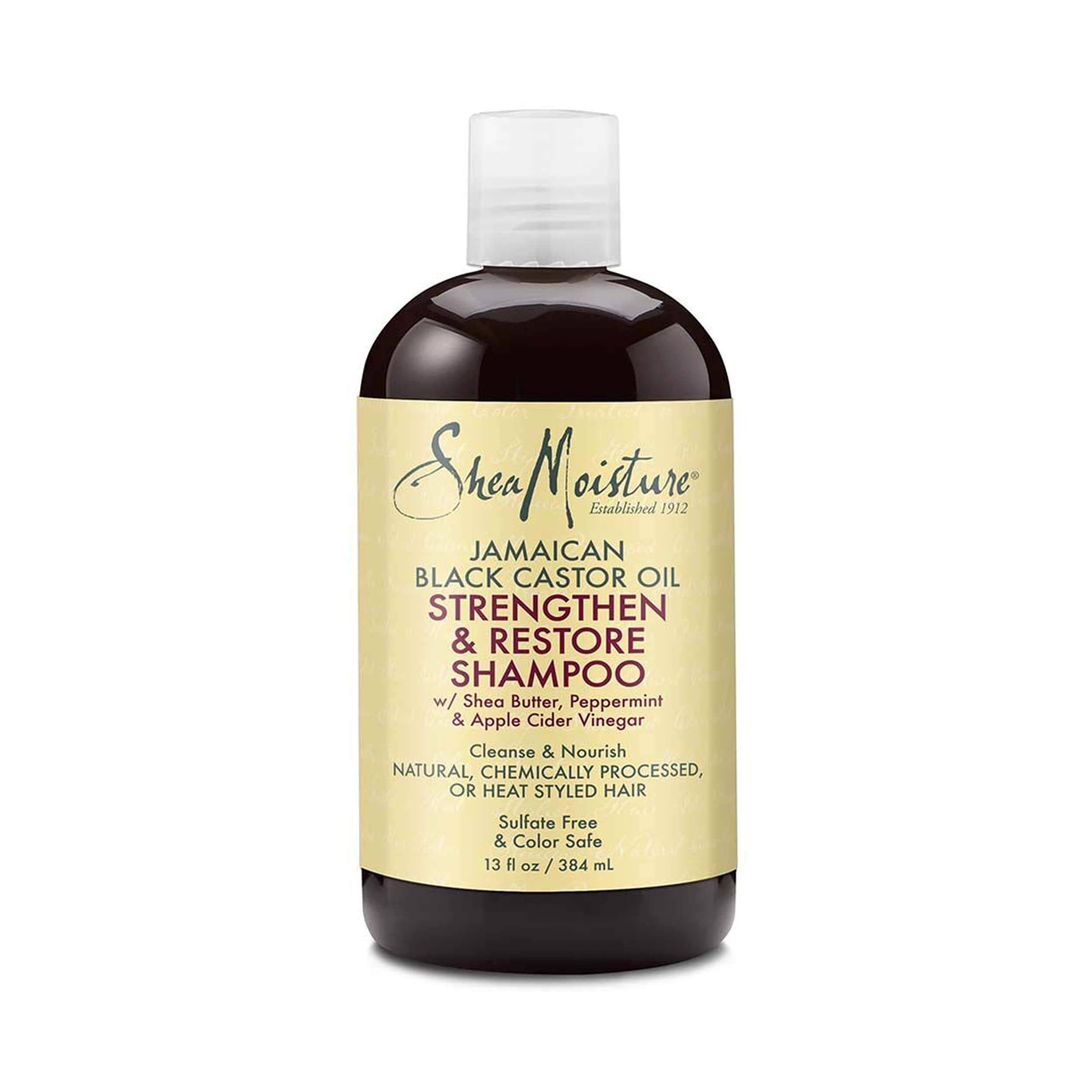 Shea Moisture Jamaican Black Castor Oil Strengthen and Shampoo - 13oz