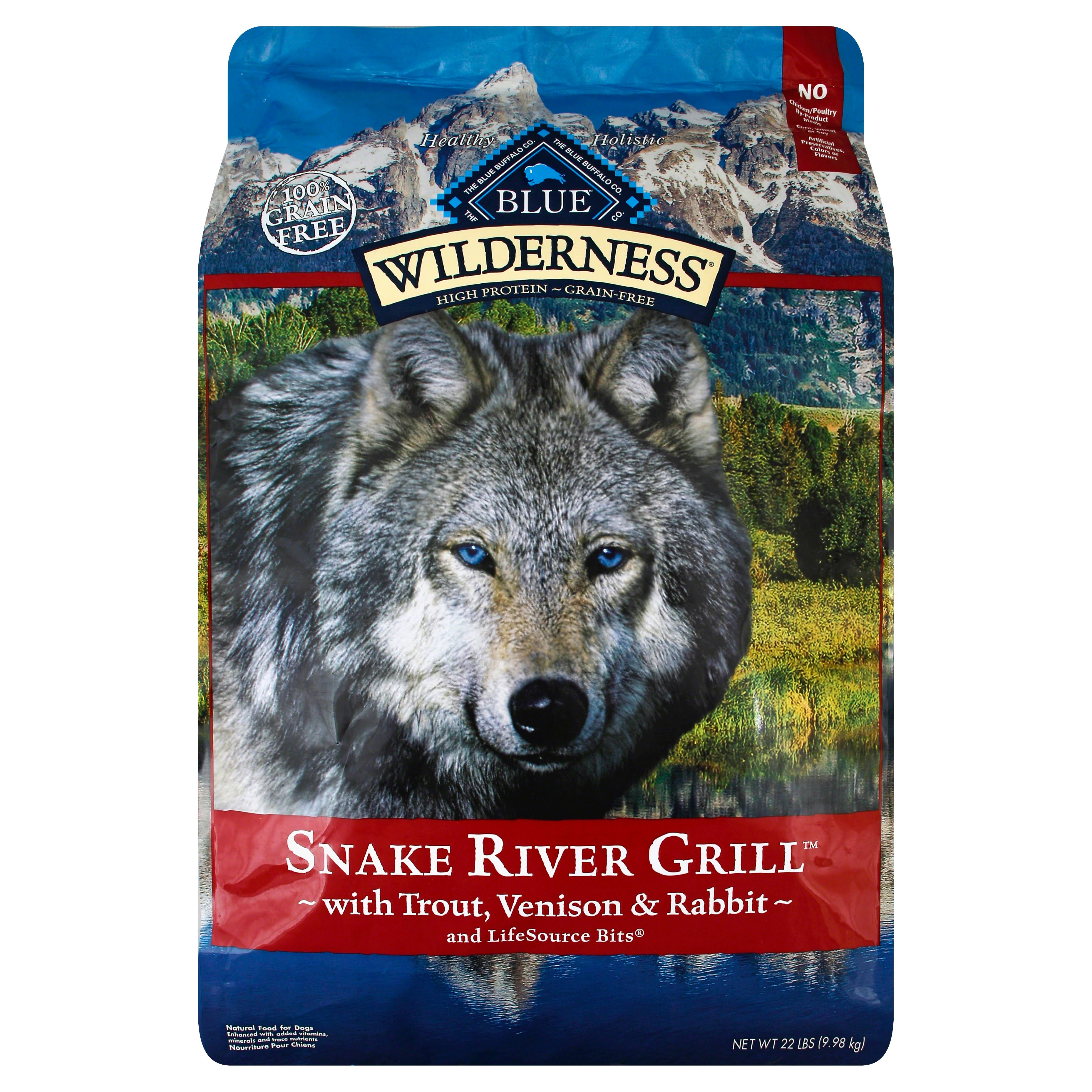 Wilderness Blue Buffalo Bayou Blend Dog Food - 4lbs