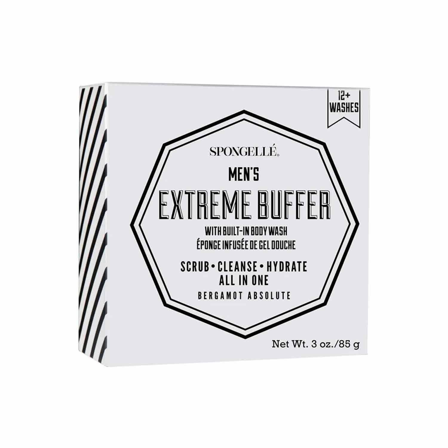 Spongelle Men's Extreme buffer- Mini