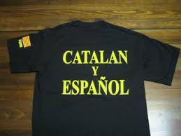 Catalán y español